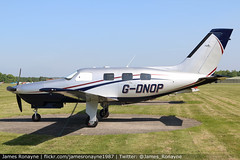 G-DNOP | Piper PA46-350P Malibu Mirage | Campbell Aviation (james.ronayne) Tags: gdnop piper pa46350p malibu mirage campbell aviation denham egld london hertfordshire flight flying general aircraft canon 80d 28105mm 100400mm raw
