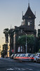 1889 german confectioner's 28 room mansion (pbo31) Tags: bayarea california nikon d810 color june 2018 boury pbo31 sanfrancisco architecture alamosquare motionblur lightstream traffic sunset roadway brown