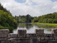 Scotland Day2 (becki1003) Tags: bridge scotland water samsung phone bricks wall trees green reflection