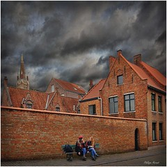 Brugge - Belgique 2015 (Philippe Hernot) Tags: bruges brugge belgique flandres philippehernot kodachrome street city carré square nikond700 nikon posttraitement