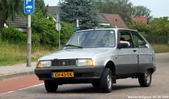Citroën Axel 12 TRS 1989 (XBXG) Tags: xh43fk citroën axel 12 trs 1989 citroënaxel citroënforum cifo forummeeting 2018 meeting eendengarage sander aalderink rigastraat stofkuipstraat wormer nederland netherlands holland paysbas old classic french car auto automobile voiture ancienne française vehicle outdoor youngtimer