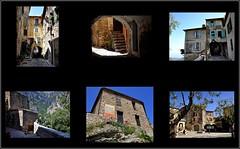 le charme d'un village de France ! (Save planet Earth !) Tags: france sud gorbio collage amcc