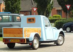 Citroën 2CV Pick-up (peterolthof) Tags: peterolthof 09062018 leek carscoffee hofman v248hs
