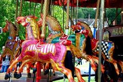Ride a Cock Horse (antonychammond) Tags: rideacockhorsetobanburycross rhyme nurseryrhyme horse carouselhorses thegalaxy contactgroups