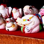 Zodiac doll bells : 十二支の土鈴 thumbnail