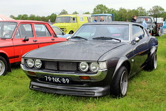 1976 Toyota Celica Liftback 1600 ST (Davydutchy) Tags: hoornsterzwaag fryslân friesland frisia frise nedeerland netherlands niederlande paysbas oldtimer evenement event festival show classic klassiker klassiek veterán car voiture vehicle auto automobiel automobile bil pkw avto toyota celica liftback 1600 st japan japanese nippon may 2018