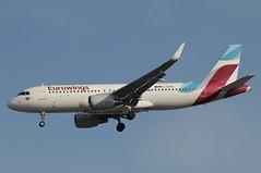D-AEWS (LIAM J McMANUS - Manchester Airport Photostream) Tags: daews eurowings ew ewg airbus a320 320 airbusa320 manchester man egcc