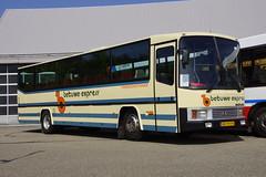 BOVA Europa DAF EL26-581 (1981) Betuwe Express 83 met kenteken BD-98-FR voor de bus garage in Heerlen 19-05-2018 (marcelwijers) Tags: bova europa daf el26581 1981 betuwe express 83 voor de bus garage heerlen 19052018 kenteken bd99fr