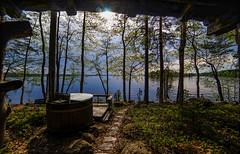 Almost ready for summer (Kari Siren) Tags: lake summer wooden pool smoke sauna holiday family friends fiesta