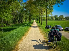 All way through (Luis Godinho Ramos) Tags: trail countryside road neufra baden europe germany bicycletouring touring bicycle