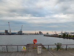 Belfast lough from the Titanic slipway (conall..) Tags: titanic slipway bbc biggest weekend quarter music live festival