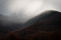 Snow time (luigig75) Tags: abruzzo appennino italia italy trees mountain montagna alberi neve clouds forest foresta bosco beechwood canon 70d 70200f4l canonef70200mmf4lusm landscape