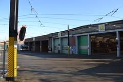 De Lijn (Will Swain) Tags: ghent 4th march 2018 tram trams transport travel vehicle vehicles europe belgium belgian town de lijn the line railway rails rail lines city centre depot garage