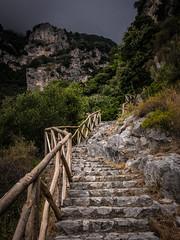 Stairway to heaven (Jim Nix / Nomadic Pursuits) Tags: amalficoast europe hdr italy jimnix lightroom macphun meditteranean nomadicpursuits positano praiano sony sonya7ii stairway travel