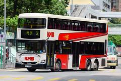 KMB Scania K310UD 12m-PC5322 (nood;e) Tags: k310ud scania bus hk kmb kowloonmotorbus hongkong asu pc5322 salvadorcaetano citygoldcd200 retrolivery 80thanniversary kmb80thanniversary benzlivery retro