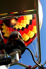 . (Kate Hedin) Tags: hot air balloon ride rocky mountain denver ignite fire lift flight basket pilot mountains sky aerial view 360