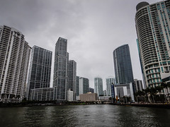 Condo Towers along Biscayne Bay and Miami River - Miami FL (mbell1975) Tags: miami florida unitedstates us condo towers along biscayne bay river fl fla water inlet ocean atlantic condominiums condominium apartment apartments tower buildings building office overcast cloudy