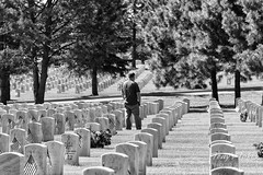 May 26, 2018 - Remembering the fallen at Fort Logan National Cemetery. (Tony's Takes)