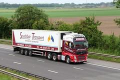 Southbar Transport Scotland V7 RMD 1st June 2018 (asdofdsa) Tags: hgv haulage transport truck lorry motorway m18 southyorkshire freight goods
