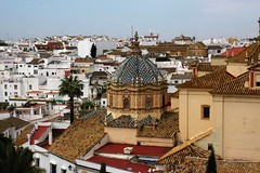 Carmona (Andrew 62) Tags: carmona andalusia spain rooftops town buildings dome