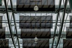 Ceiling Structure (henny vogelaar) Tags: netherlands nijmegen roof architecture modern carolusroc agsarchitects