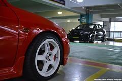 Mitsubishi Lancer Evolution 5, Subaru WRX STI (Edrian1011) Tags: subaru boxerengine streetcustomsph endless car meet wrxsti subaruwrxsti wrx mitsubishilancerevo mitsubishi lancerevo lancerevolution evolutionlancer evo 4 evolution