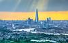 Let the sun shine in (aurlien.leroch) Tags: london uk england shard towerbridge londoneye cityscape nikon skyline sunset