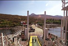Isle of Rhum MV Loch Nevis Scotland   2018 (Pgcc) Tags: scotland highlands may2018 isleofrum ferry caledonianmcbrayne calmac weather scottish island summer fuji200 canona1 35mm film isleofrhum 2018 may mvlochnevis allrightsreserved©2018