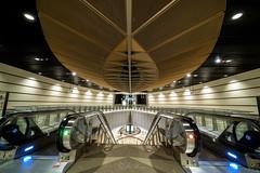 Perspective (jacysf) Tags: mrtstation perspectives throughherlens modern modernarchitecture leafdesign calming tube trainstation