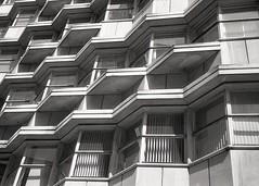 Grosvenor House (OhDark30) Tags: olympus 35rc 35 rc 35mm monochrome film bw blackandwhite bwfp fomapan 200 rodinal grosvenorhouse newst birmingham architecture building 20thcentury