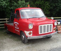 1969 Ford Transit Breakdown Recovery Vehicle (occama) Tags: rcv746g 1969 ford transit tow truck red cornwall uk british diesel