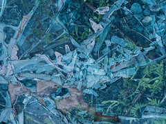 Shattered glass (nancy1607ca) Tags: abstract blue glass broken doms courtice