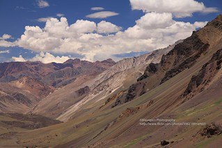 towards Cristo Redentor de los Andes, Argentinian-Chilean border