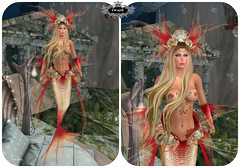 irrisistible from swank (louannjolbey) Tags: swank ir mermaid sl secondlife second life maitreya belleza hourglass slink fantasy outfit fashion design clothes headpiece scale hairs tail creature sea undersea women sexy mystic myth event irrisistible shop