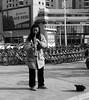Street music in 天津 (niclas.zhao) Tags: asian asia chinese white black bw blackandwhite nice photo photographer photography travel citylife city china kina tianjin