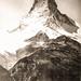 Schweiz, Matterhorn, Ost- und Nordostwand, um 1900