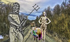 Blocking the Way (Rusty Russ) Tags: hillbilly rural america folks goat pitch fork colorful day digital window flickr country bright happy colour eos scenic world sunset beach water sky red nature blue white tree green art light sun cloud park landscape summer city yellow people old new photoshop google bing yahoo stumbleupon getty national geographic creative composite manipulation hue pinterest blog twitter comons wiki pixel artistic topaz filter on1 sunshine image reddit tinder