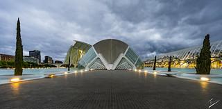 Ciudad de las Artes y las Ciencias- Valencia