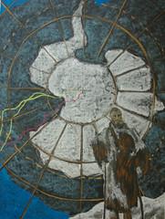 7th Grade: History; Western Expansion (ArneKaiser) Tags: 7thgrade edited waldorfjourney chalk chalkboard chalkdrawings