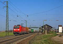 DB 185 078 (maurizio messa) Tags: nikond7100 mau bahn bombardier ferrovia freighttrain fret cargo br185 traxx treni trains railway railroad germania germany guterzuge badenwürttemberg