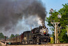 #4501 Racing by Washington (Kyle Yunker) Tags: southern railroad railway sou ns norfolk steam engine 4501 282 washinton cpl cpls signal train passenger