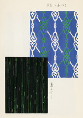 Vintage woodblock print of Japanese textile from Shima-Shima (1904) by Furuya Korin. Digitally enhanced from our own original edition. (Free Public Domain Illustrations by rawpixel) Tags: furuya korin otherkeywords tags antique asian background blue cc0 collection compilation decoration design fabric furuyakorin graphic illustrated illustration japan japanese name old pattern plate print printed publicdomain set shimashima style textile textured various vintage wallpaper woodblockprint woodcut
