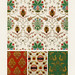 Middle-Ages pattern from L'ornement Polychrome (1888) by Albert Racinet (1825–1893). Digitally enhanced from our own original 1888 edition.