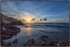 Poipu Cliffs, Kauai. (drpeterrath) Tags: sunrise poipu kauai hawaii water ocean waves sun sky cloud color canon eos5dsr 5dsr travel rocks weather outdoor seasvape landscape