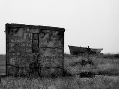 Black and White Project (ART NAHPRO) Tags: dungeness east coast kent boat hut shelter hulk south