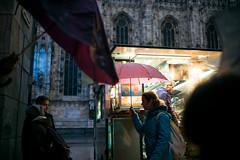 Milano Street Walking - Warmth (In.Deo) Tags: milano lombardia italy street rain umbrella