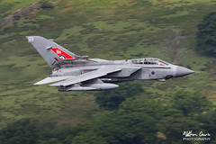 RAF Tornado GR4 ZG752 low level at Ullswater (NDSD) Tags: low level panavia tornado gr4 ullswater cumbria flying jet raf lake district plane aviation aircraft water waterlocked