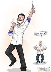 Couteau !!! (dessins_urgence) Tags: camille chef cuisine etchebest finale gagnant m6 topchef