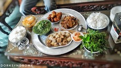 Just a Vietnamese lunch set. (hoangbinhboong) Tags: chicken vegetables lunch lunchset vietnam dailylife springrolls
