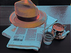 Morning Coffee (size10x15) Tags: leisure zeitung morgen newspaper news morning coffee kaffee
